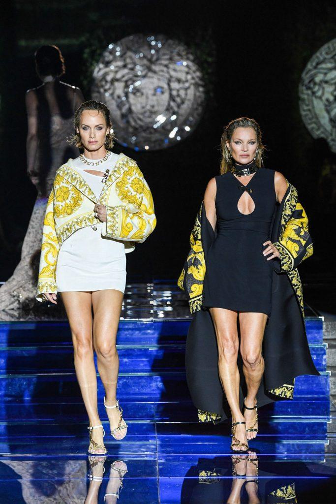 Look 24 y 25 Versace by Fendi