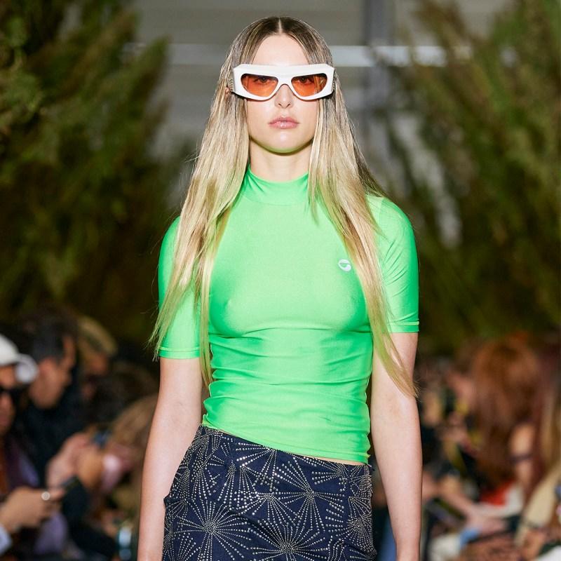 Eve Jobs, la hija del genio de Apple, debutó como modelo en PFW