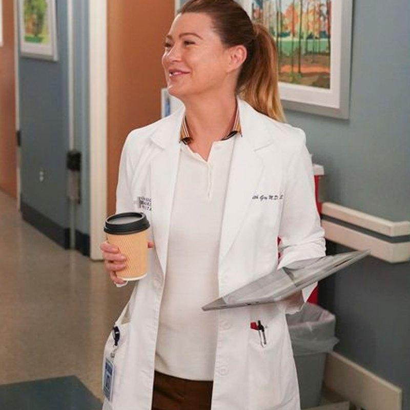 Meredith usó la camisa del primer capítulo de Grey's Anatomy… ¿será una pista?