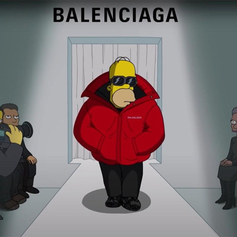 ¿Balenciaga en un capítulo de Los Simpson? OMG!