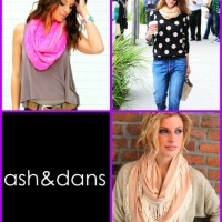 Create A Scarf Frenzy: Wrap Around Ash&Dans Newest Scarves!