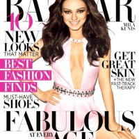 Picture Lust: Editorial Sweet ~ Featuring Mila Kunis Goes Carousel Style For Harper's Bazaar April 2012 Issue
