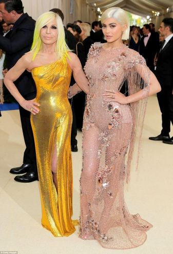 Kylie & Dontalla Versace Met Gala 2017