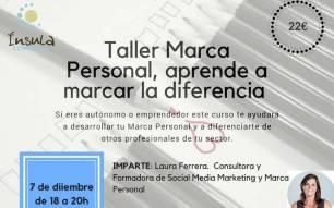 Marca Personal, aprende a marcar la diferencia. Jueves 7 de diciembre