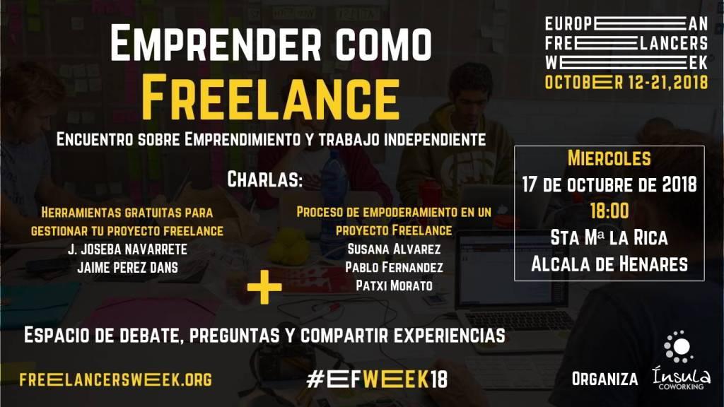 Emprender como freelance 2018