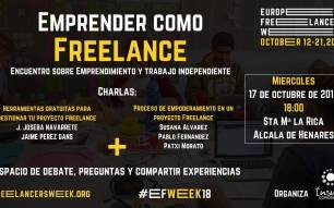 Emprender como Freelance. Freelancer Week 2018