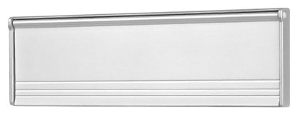 Aluminum flap Silver frame Classic Surface Mount