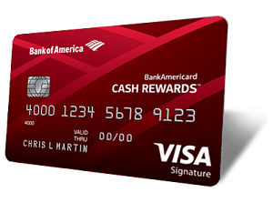 Bank of America BankAmericard Cash Rewards™ Credit Card, one of the greatest cash back credit cards with no annual fee