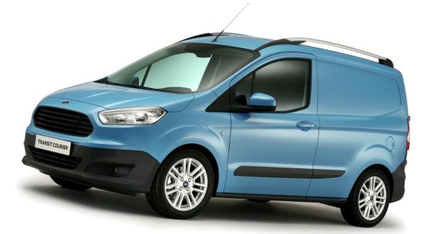 Ford-Transit-Courier blue