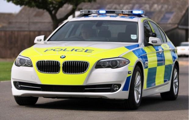 UK POLICE bmw CAR