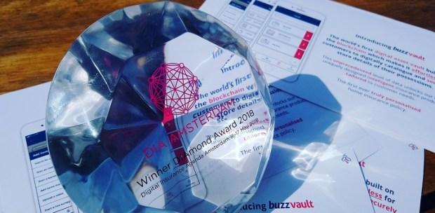 diamond award buzzvault win