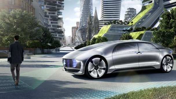 mercedes future autonomous driverless 1