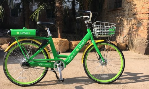 lime shared electric bike use in cities