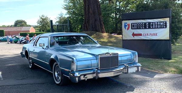 footman james coffee and chrome classic car event