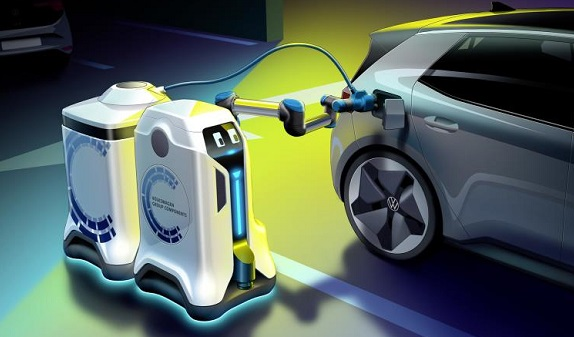 vw robot chargers