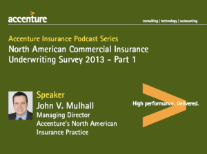 Accenture Insurance Podcast Series: North American Commercial Insurance Underwriting Survey - Part 1