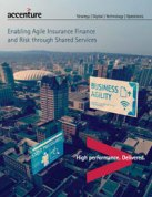 Enabling Agile Insurance Finance and Risk through Shared Services