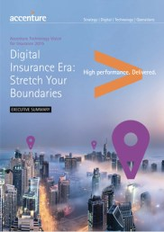 Digital Insurance Era: Stretch Your Boundaries