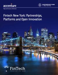 Fintech New York: Partnerships, Platforms and Open Innovation