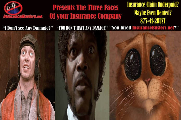 The Three Faces of your Insurance Company...
