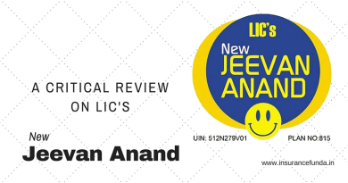 LIC's New Jeevan Anand-A critical Review