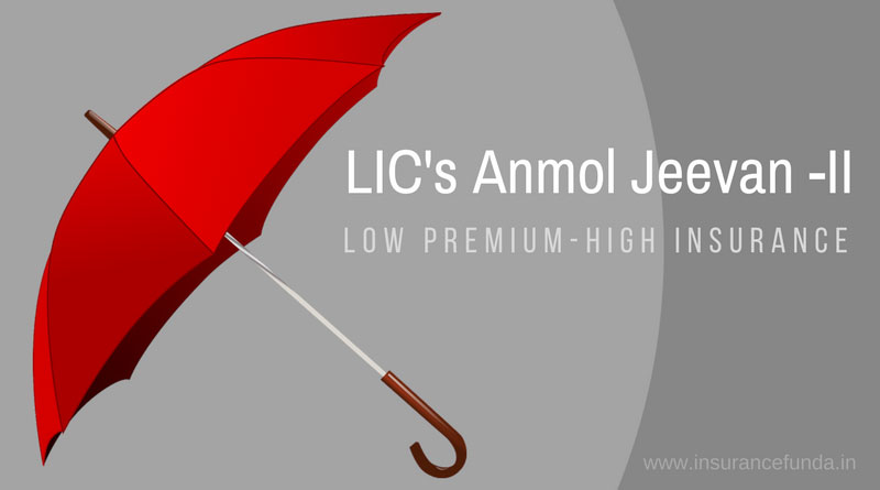 LIC Anmol Jeevan II plan 822 all details with premium and benefit calculators