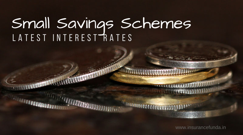 Small Savings and post office savings schemes latest interest rates