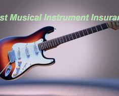 Best Musical Instrument Insurance