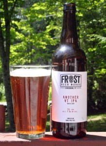 Frost beer Works Another VT IPA