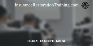 insurance restoration training class
