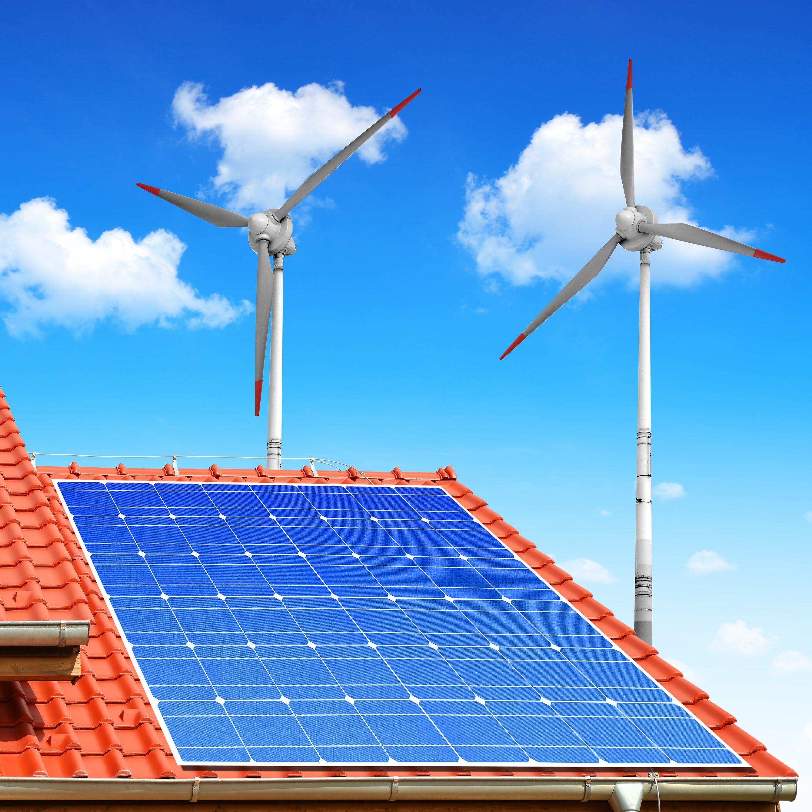 Residential wind energy user