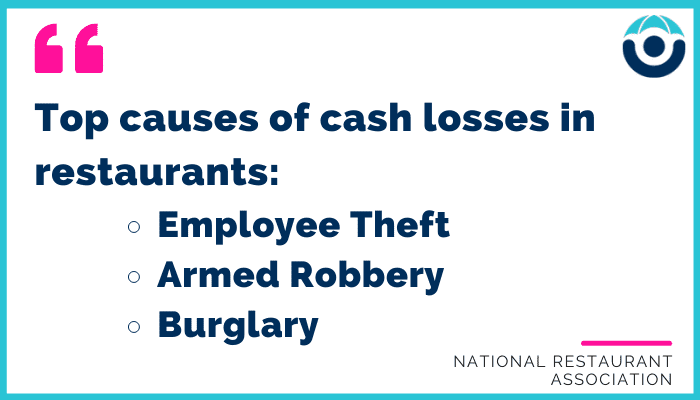 Top causes of cash losses in restaurants and what to do about them.