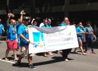 PGE walking with pride.