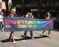 Stand with Planned Parenthood, Stand for Equality.