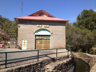 Lime Saddle Power House, not 1870's, but the rock lined water canal might be.