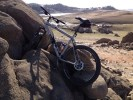 Biking on, over and around the North Fork Ditch, Folsom Lake, American River