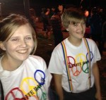 Members of the Granite Bay Gay Straight Alliance at Laramie Project Rally
