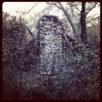 Ruins of Zantgraf Mine stamp mill.