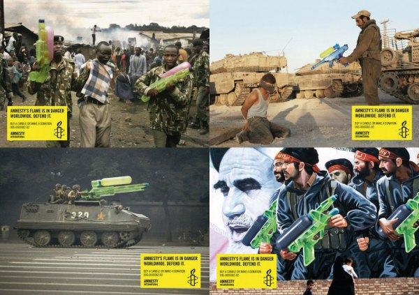 amnistía internacional | Insurgencia Gráfica
