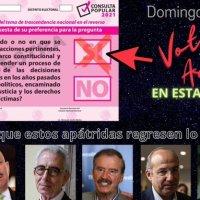 La consulta popular para el juicio contra expresidentes