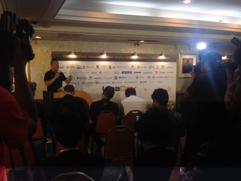 由優納比創辦人Philippe Chiu舉行開幕記者會