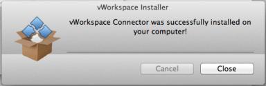 mac-10 vWorkspace Connector installer for Virtual Desktop usage on Mac