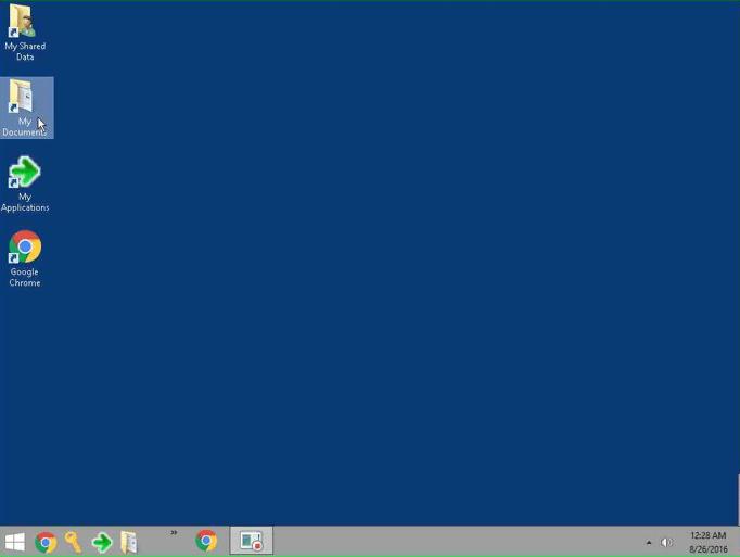 cloud desktop find documents screenshots