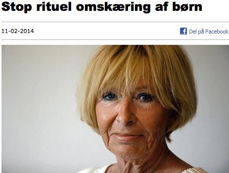 Red Barnet Mimi Jacobsen: Stop rituel omskæring