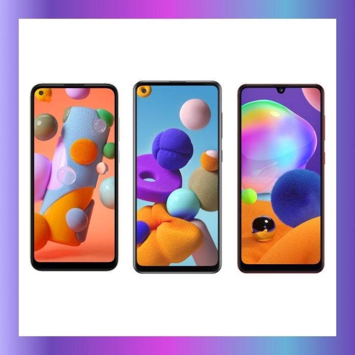 Series A Samsung Galaxy A11