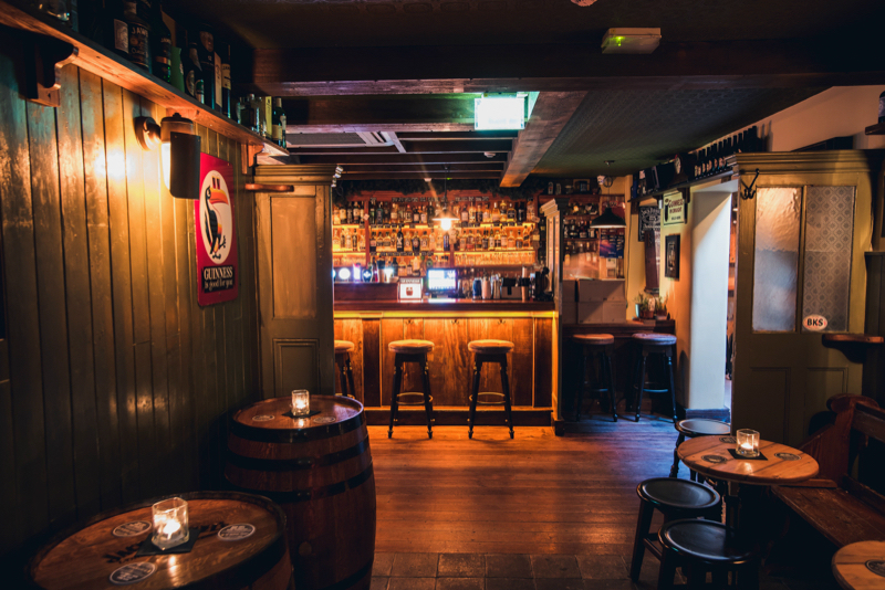 Traditional Irish Bar design Waterford