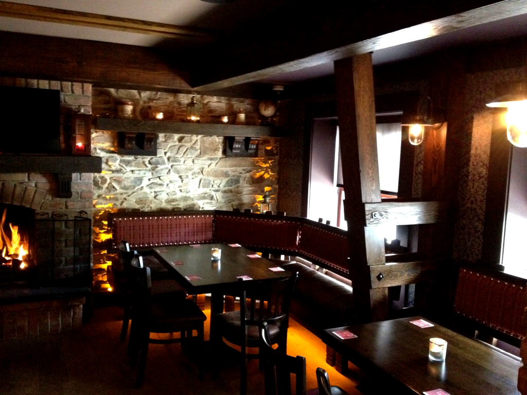 Nora's traditional bar design donegan