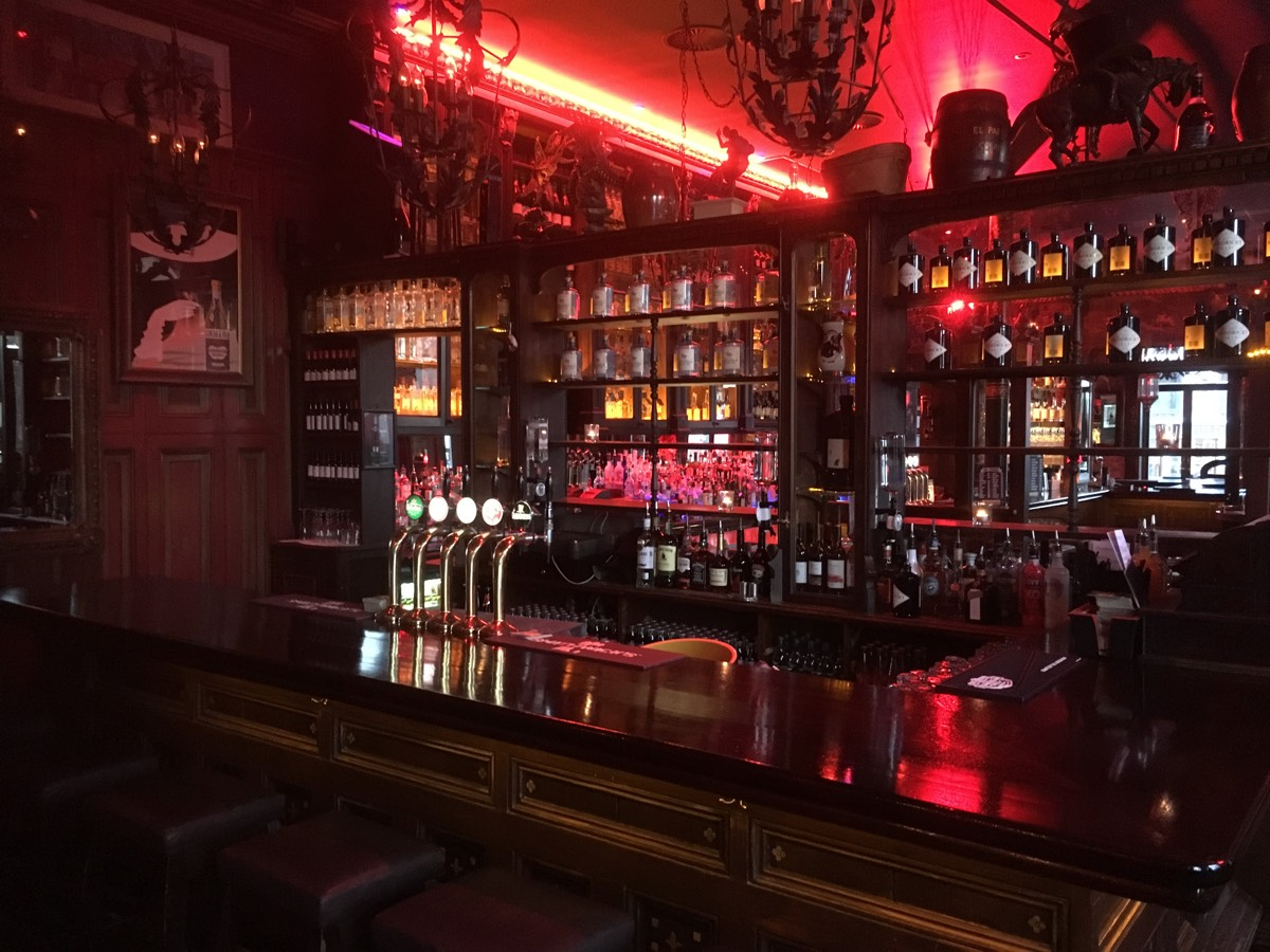 Bar designs in Kilkenny Ireland