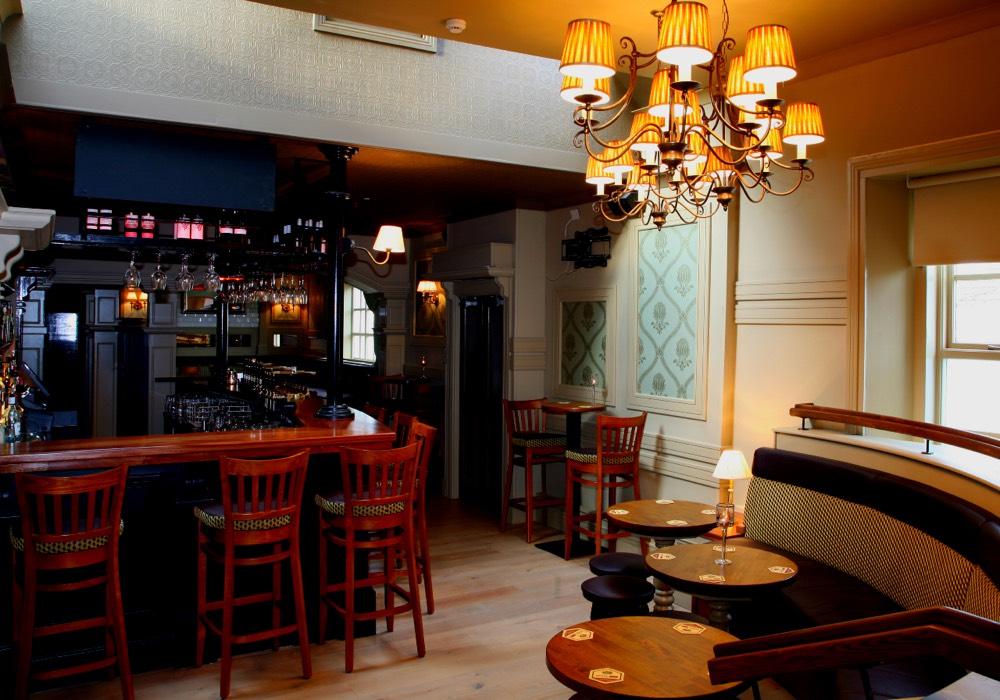 Mckennas bar interior design dublin
