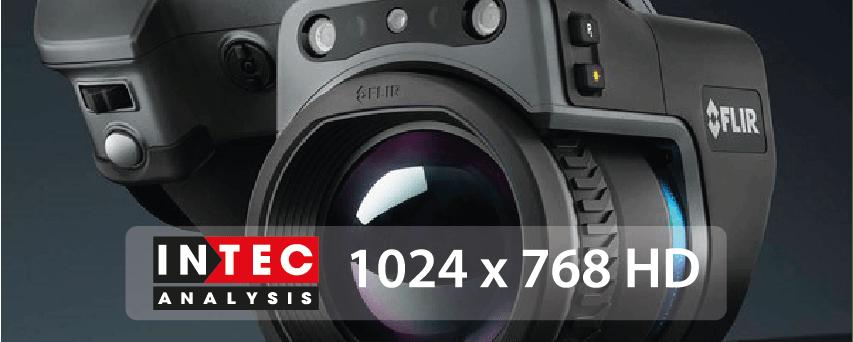 Intec use powerful handheld IR Camera.